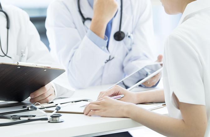 直接、医師が回答をする健康相談