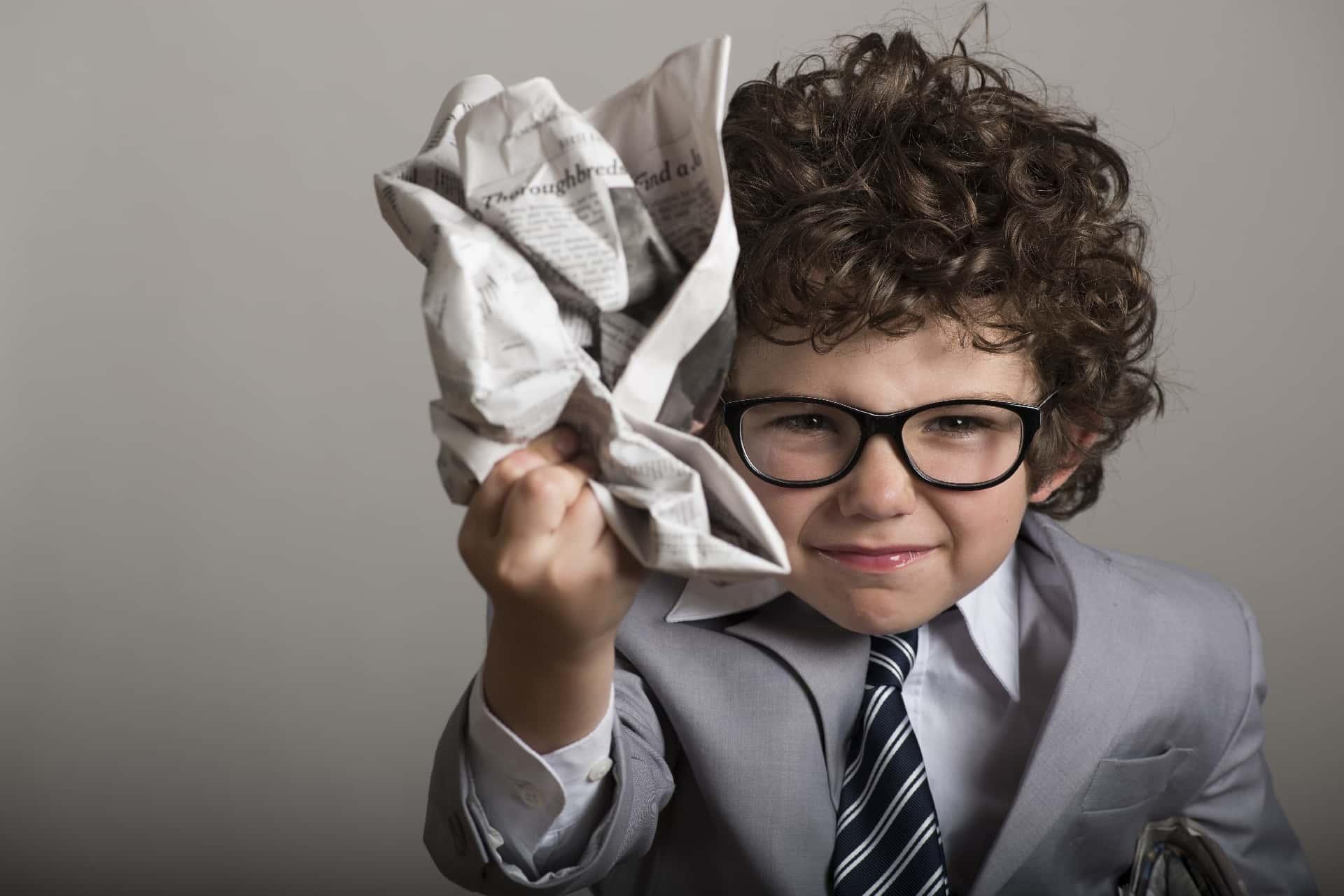 ADHDで癇癪を起こす子供