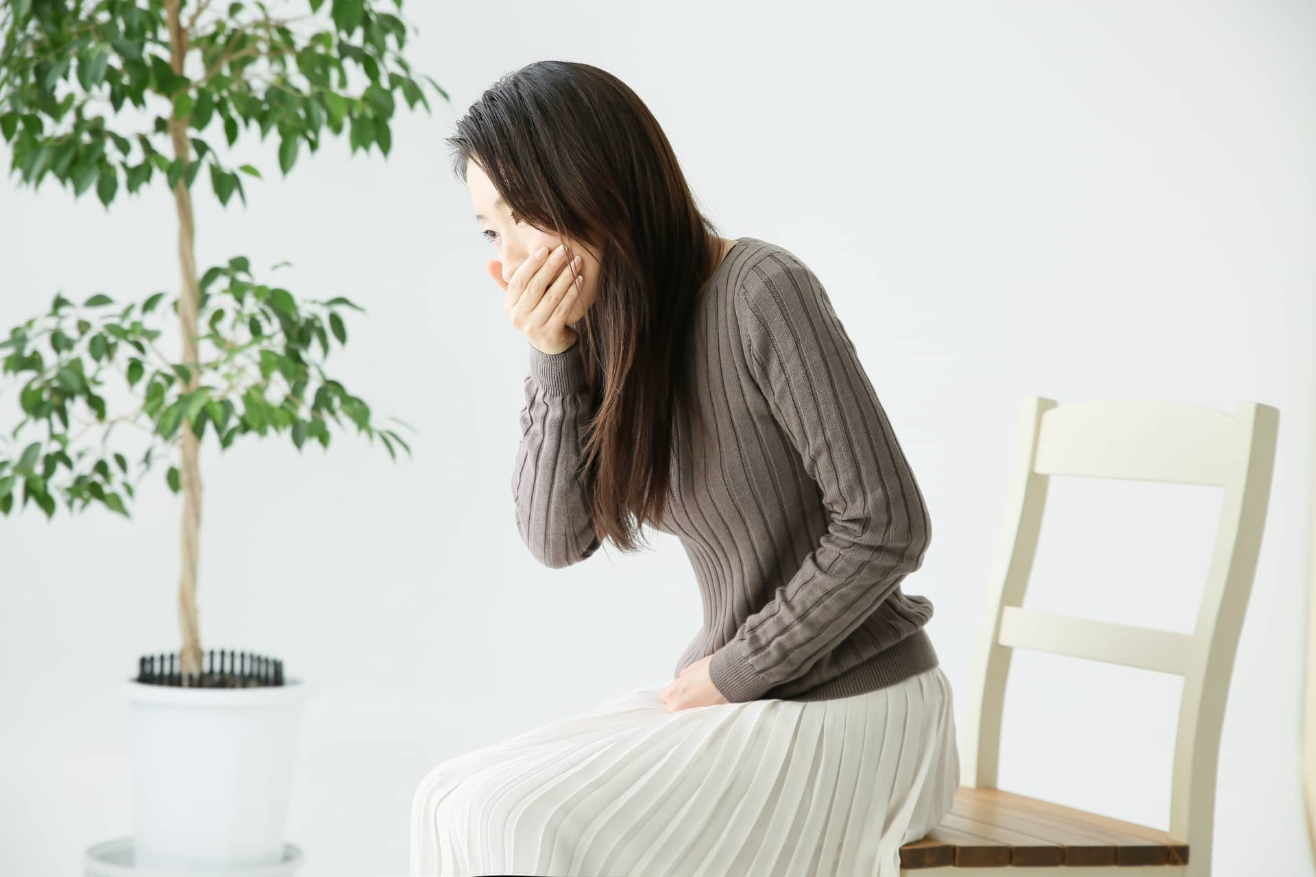 感染症に罹患した妊婦
