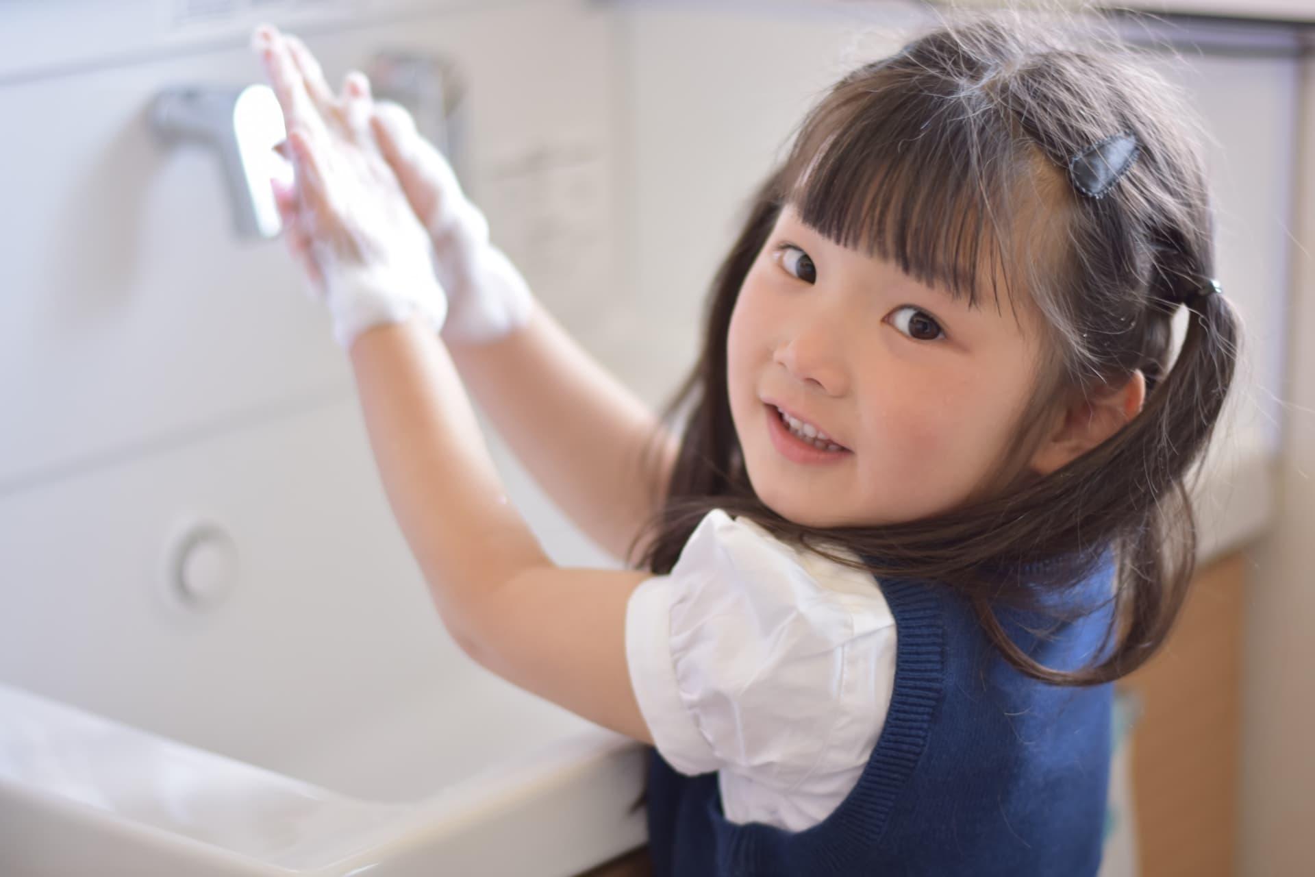 手洗いをしっかりして、きっちり水分を拭き取ろう