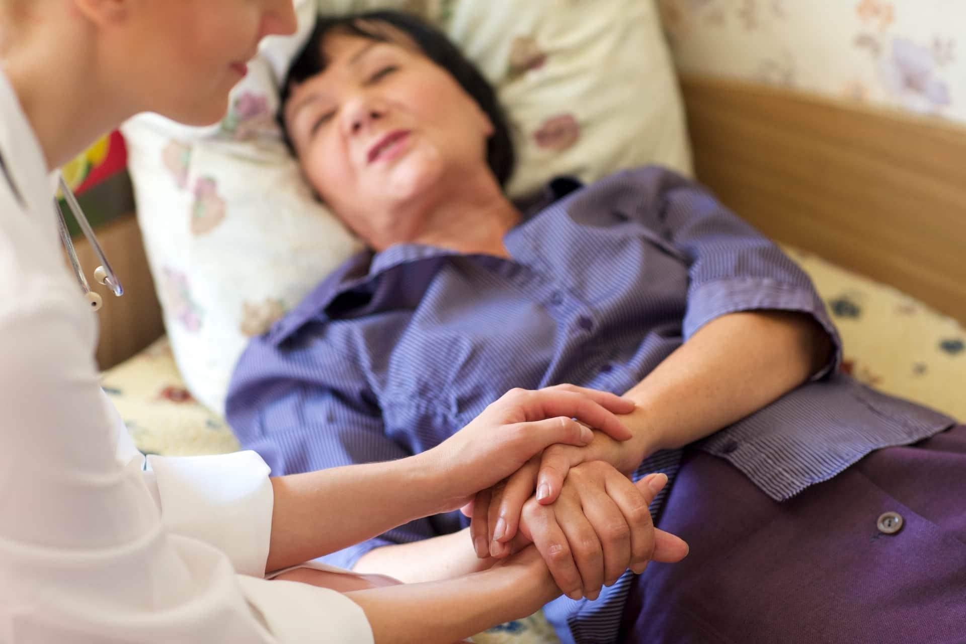 死生観に基づいて治療を拒否する患者がいる