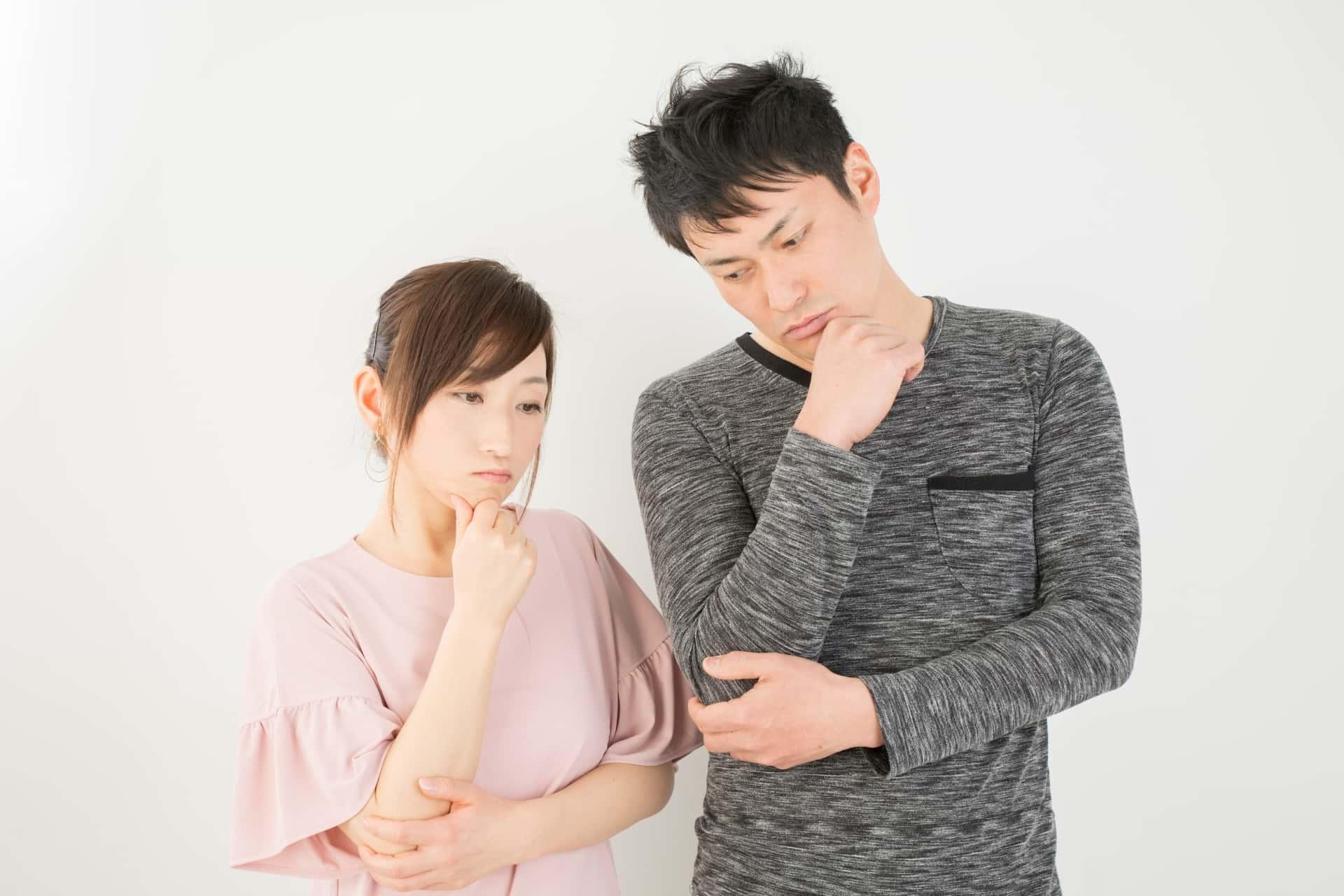 男性不妊で悩む夫婦