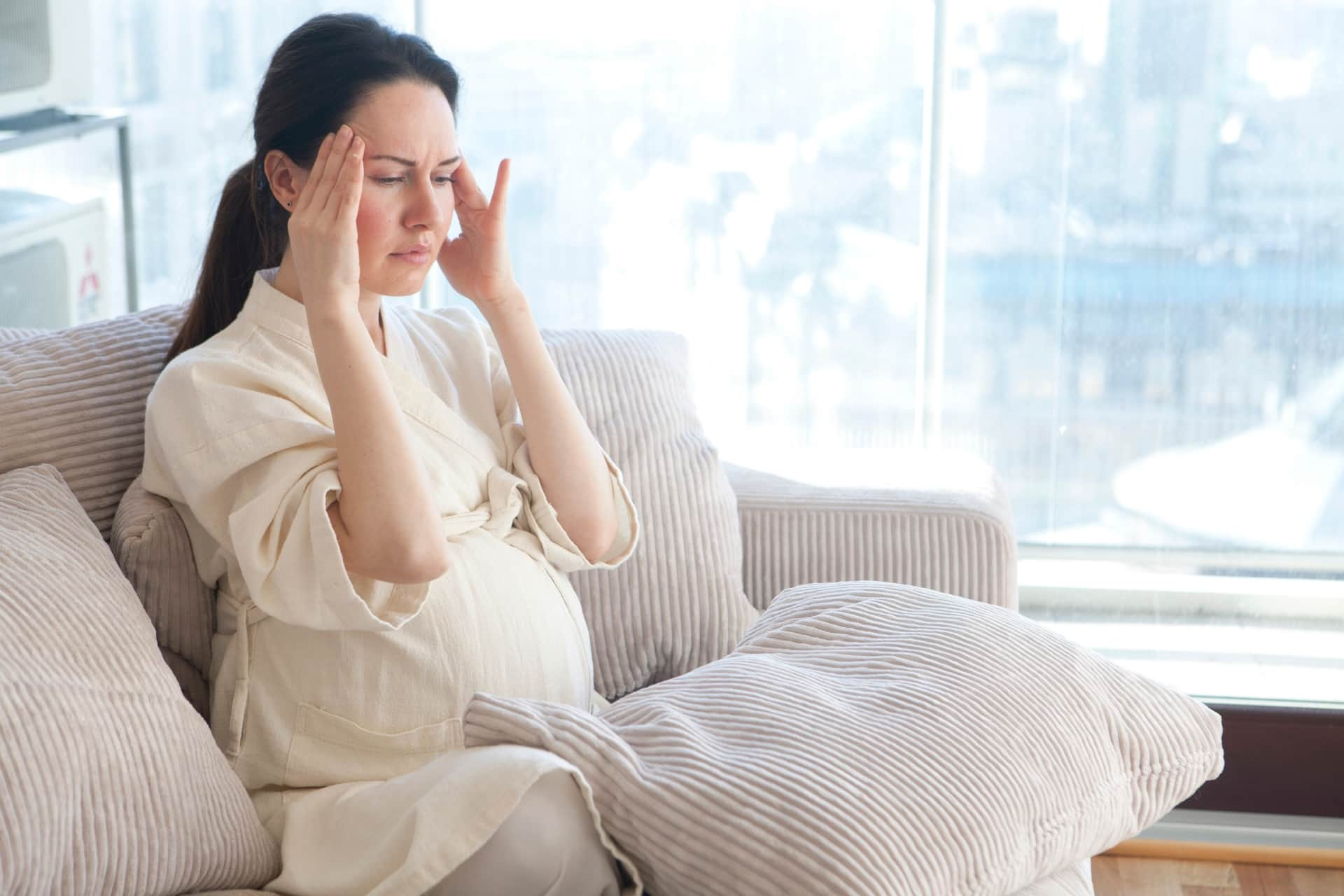 妊娠中の頭痛