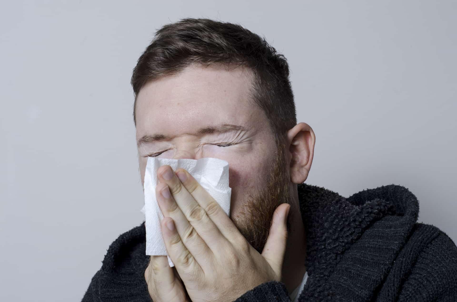花粉症の鼻づまり