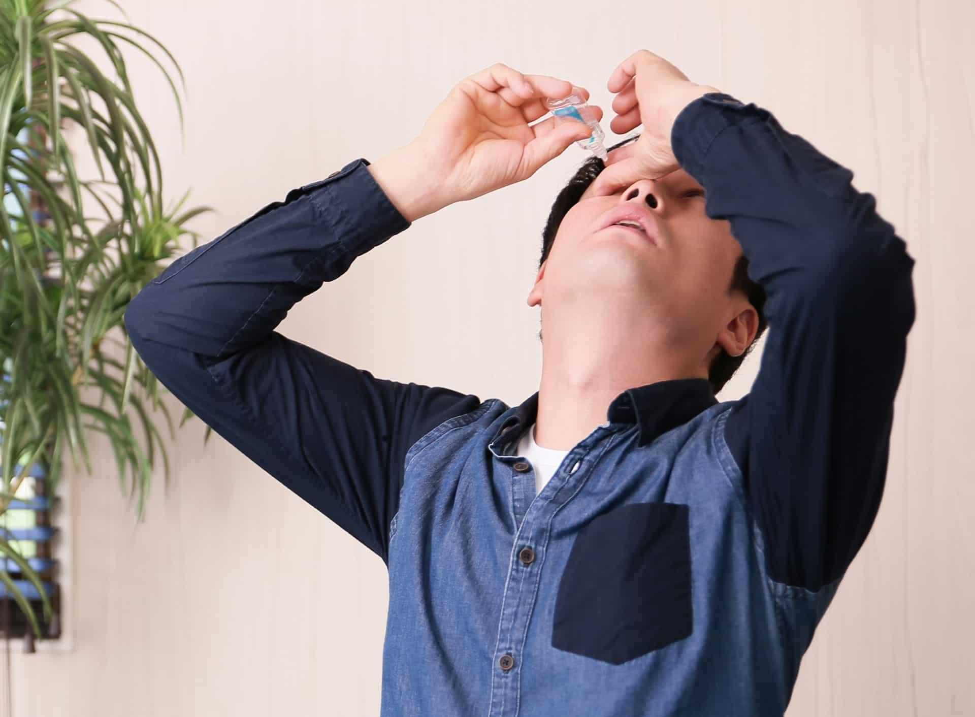 花粉症の目薬