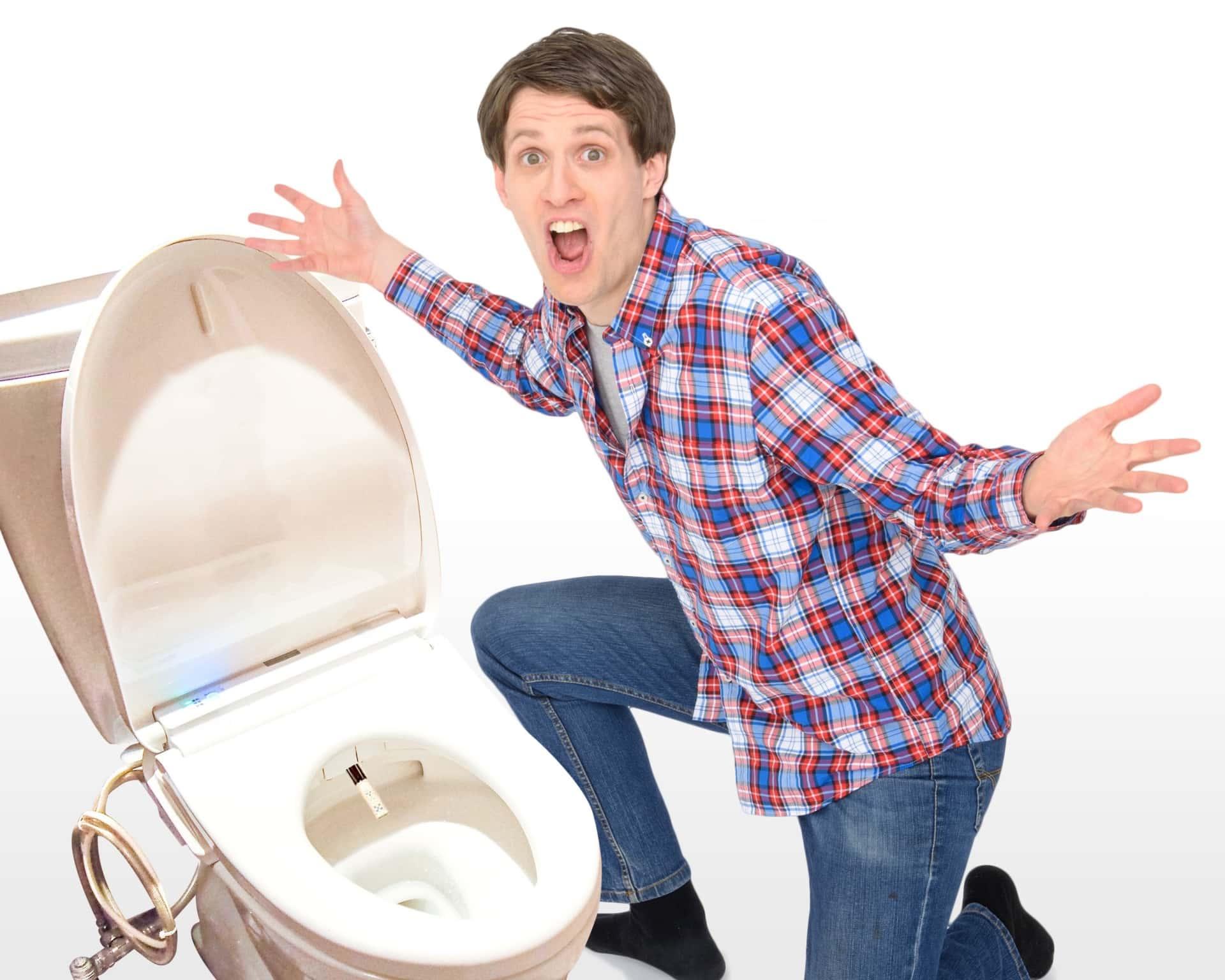 トイレと男性