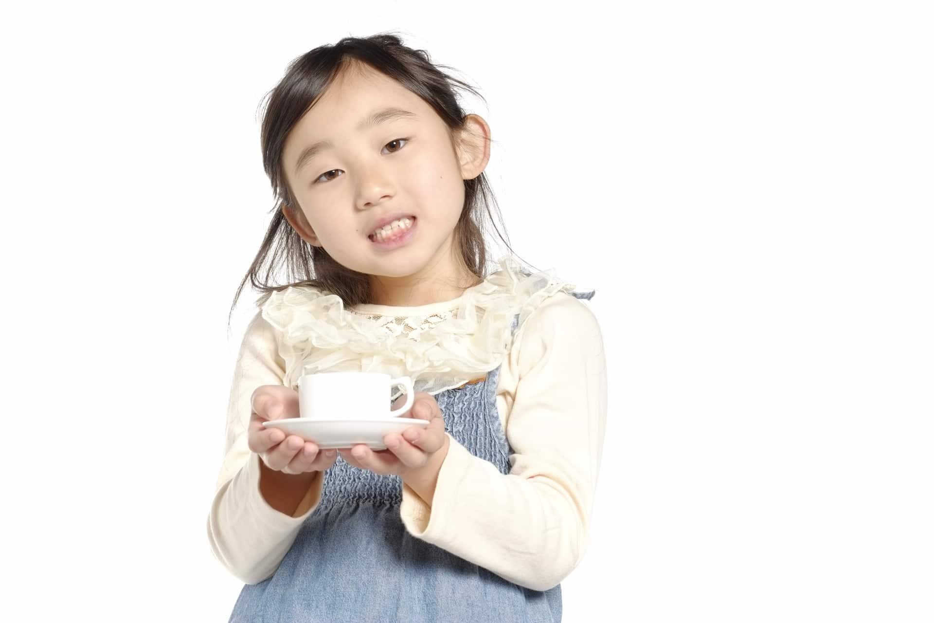 子供へのカフェイン