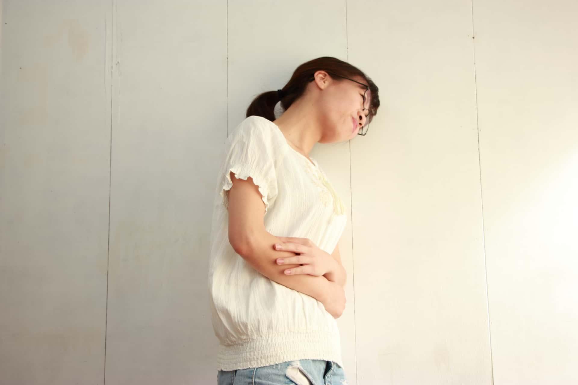 左側の腹痛