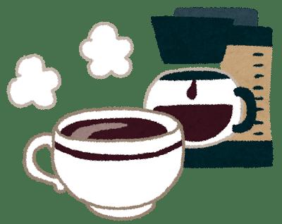 コーヒーには血管の収縮効果がある
